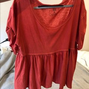 Free People Odyssey Tee (Oversized)